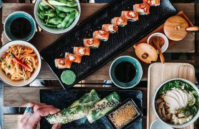 shushi bar geisha pre gurmánov aj vegetarioanov