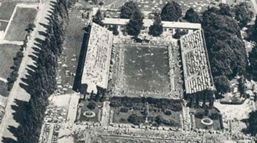 tehelne pole v minulosti vystavba 1939